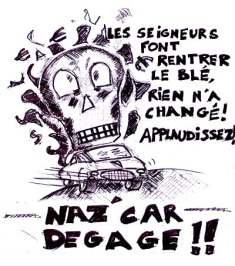 Bill dit « non aux Naz'Cars »