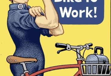 Je vais travailler à vélo…
