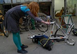 Una Brogan le vélo et la littérature