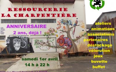 Atelier mo'BILL à La Charpentière