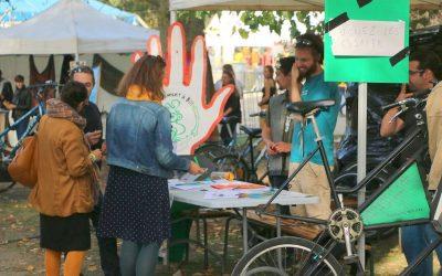 Atelier mo'Bill au Festival des Solidarités