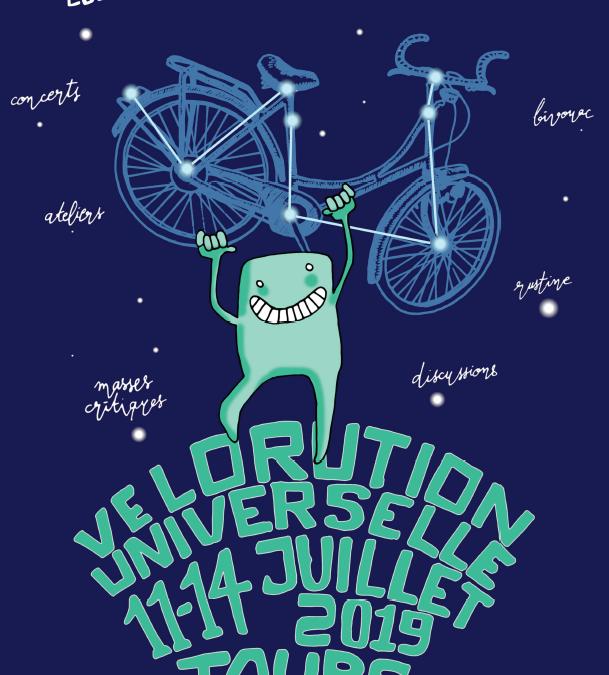 On accueil la Vélorution Universelle !!!